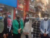 حملات القومى للمرأة فى كفر الشيخ لتوعية المواطنين بتلقي لقاح كورونا.. فيديو