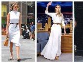 طلى بالأبيض على طريقة جيجى حديد.. الفساتين البيضاء موضة صيف 2021 ..ألبوم صور