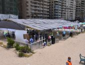 محافظة الإسكندرية: نسبة إشغال الشواطئ تتراوح بين 50 - 100% وفقاً للمسموح