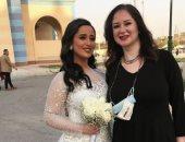عقد قران ابنة الفنان الراحل صلاح رشوان ومى نور الشريف تهنئها