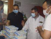 تعافى وخروج 46 حالة من مصابى كورونا بمستشفيات الغربية
