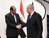 رئيس المخابرات العامة يجرى مباحثات مع رئيس وزراء إسرائيل لتثبيت وقف إطلاق النار