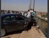 مصرع شخص وإصابة آخر صدمتهما سيارة أثناء عبورهما الطريق فى مدينة نصر
