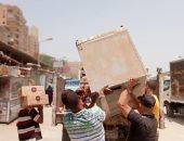 حي العجوزة يشن حملة مكبرة لرفع الإشغالات استجابة لشكاوى المواطنين