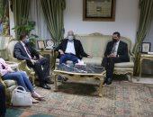محافظ جنوب سيناء يستقبل رئيس الهيئة العامة الإستثمار