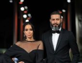 أجمل صور لأحدث عروسين فى الوسط الفنى محمد فراج وبسنت شوقى