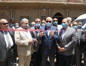 افتتاح محطة الصرف الصحى بقرية الصغيرة بأوسيم بتكلفة 95 مليون جنيه.. صور