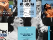 مارادونا على أغلفة الكتب.. أهم 10 كتب عن الفتى الذهبى تحكى رحلته الكروية