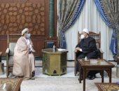 شيخ الأزهر يستقبل سفير سلطنة عمان