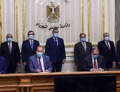رئيس الوزراء يشهد توقيع عقد لتعديل 2262 أتوبيسا للعمل بالغاز بقيمة 1.2 مليار جنيه