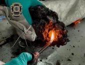 الكوكايين الأسود.. إسبانيا تحبط تهريب 862 كليو من المخدر بعد تحويله إلى فحم..صور