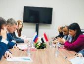 الدكتورة رانيا المشاط تبحث تعزيز التعاون الثنائى مع وزير التنمية الاقتصادية الروسى
