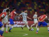 """كوبا أمريكا.. فارجاس يتعادل لـ تشيلي ضد الأرجنتين 1-1 """"فيديو"""""""