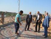 محافظ القليوبية يتابع أعمال تطوير محور شركات البترول في مسطرد.. صور