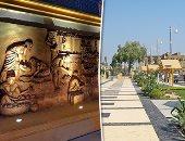 تجميل عاصمة الحضارة الفرعونية أمام السياح.. السحر والجمال يرسم كورنيش الأقصر