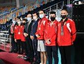 وزير الشباب والرياضة يشهد ختام بطولة كأس العالم للجمباز الفني