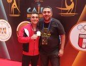 البطل السوري ليث نجار: مصر وش السعد عليا وانتظروني بطلاً أولمبياً