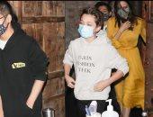 أنجلينا جولى تحتفل بعيد ميلادها بصحبة أبنائها الـ6 في لوس أنجلوس
