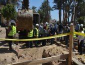 """""""حياة كريمة"""" فى المنيا.. إنشاء مجمع خدمات ومشروع للصرف والمياه بأبو قرقاص"""