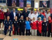 منتخب التايكوندو يعود من السنغال بميداليات البطولة الإفريقية