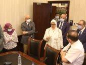 وزيرة الصحة تؤكد اهتمام ودعم الرئيس السيسي للارتقاء بمنظومة التعليم الطبى