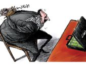 كاريكاتير اليوم.. الاحتلال الإسرائيلى يقيد دخول المساعدات إلى قطاع غزة