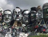 تمثال من النفايات الإلكترونية لقادة مجموعة الدول السبع.. اعرف التفاصيل