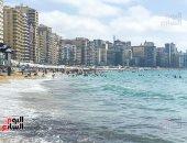 اسكندرية كمان وكمان.. إقبال كثيف على شواطئ عروس البحر الأبيض المتوسط .. ألبوم صور