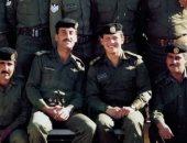 """""""أيام غالية على قلبى"""".. ملك الأردن يحتفل بعيد الجيش بصورة خلال خدمته العسكرية"""