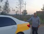 """شاهد فرحة أول مستلم لسيارة جديدة بمبادرة """"الإحلال"""" بكفر الشيخ: شكرا للرئيس"""