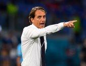 إيطاليا ضد إسبانيا.. مانشينى: هدفنا الوصول للمباراة النهائية والحفاظ على السجل القياسى