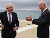 """جونسون وبايدن يتفقان على إسناد موقفهما تجاه روسيا والصين على """"القيم المشتركة"""""""