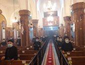 إيبارشية الفيوم تحتفل بعيد القديس الأنبا أبرآم بدون حضور شعبى