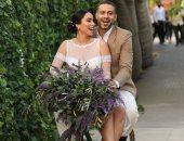ظهر بها محمد فراج.. بدلة العريس الفاتحة موضة فى صيف 2021