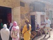 """حملة طرق الأبواب للتوعية بخطورة ختان الإناث في قرى """"حياة كريمة"""" بكفر الشيخ.. لايف"""