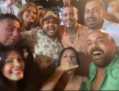 فرحة من القلب .. صور جديدة لحفل زفاف محمد فراج وبسنت شوقي