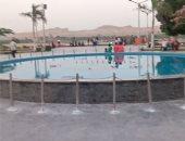 """اضحك الصورة تطلع حلوة.. منطقة التصوير على كورنيش النيل قبلة أهالى المنيا """"لايف"""""""