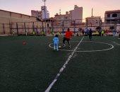 """من هنا خرج """"حسام غالى"""".. شاهد تدريبات كرة القدم لأطفال لـ شباب ونادى بيلا بكفر الشيخ"""