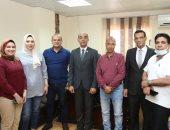 تدريب وزيارات لمتدربى البرنامج الرئاسى لتأهيل التنفيذيين للقيادة بكفر الشيخ