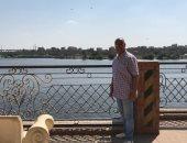 شاهد أعمال تطوير كورنيش النيل فى كفر الزيات بالغربية.. لايف وصور