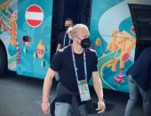 """يورو 2020.. وصول منتخب النمسا إلى الملعب لمواجهة مقدونيا """"صور """""""