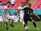 ملخص وأهداف مباراة إنجلترا ضد كرواتيا فى أمم أوروبا 2020