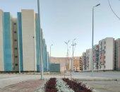 """الإسكان: تنفيذ 2544 وحدة سكنية بـ""""سكن كل المصريين"""" فى مدينة غرب قنا الجديدة"""