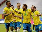 بيرو ضد البرازيل .. نيمار يقود الهجوم وعودة تياجو سيلفا فى كوبا أمريكا