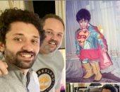 """محمد محمود عبد العزيز في عيد ميلاد شقيقه كريم: """"كل سنة وأنت طيب يا سوبر مان"""""""