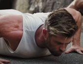 كريس هيمسوورث يخوض تدريبات قاسية تزامنًا مع تصوير فيلمه Extraction 2