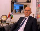القائم بأعمال سفارة أوزبكستان: السيسى رجل المهام النبيلة..والأمان أهم نعمة بمصر