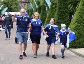 """شجع بلدك.. جماهير أسكتلندا تملأ مدرجات ملعب """"هامبدن بارك"""""""