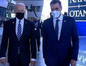 صحيفة: اجتماع رئيس حكومة إسبانيا ببايدن فى قمة الناتو استمر 45 ثانية فقط