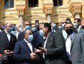 رئيس مجلس الوزراء يتفقد مشروع ترميم قصر السلطان حسين كامل وتحويله لمجمع للإبداع الرقمي